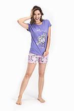 Комплект (футболка+шорты) подростковый для девочки ТМ Roly Poly р.9-14 лет (4 шт в ростовке)