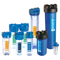 Системи очищення води Насоси плюс обладнання SF10-2, подвійна фільтрація, прозорі