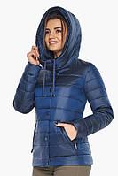 Женская куртка Braggart оригинальная осенне-весенняя цвет сапфировый модель 61030