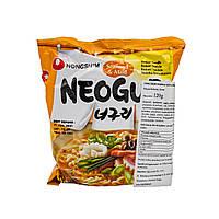 Локшина Рамен швидкого приготування середньогоста з морепродуктами Mild Neoguri Ramyun Nong Shim 120 г, фото 1