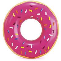 """Надувний круг """"Рожевий пончик"""" 99х25 см, Іntex (56256), фото 1"""