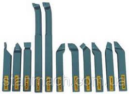 Резцы токарные Optimum 16х16мм 11шт с напайными пластинами ( отрезные, проходные, подрезные, расточные )