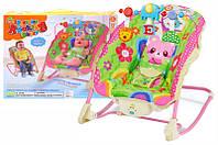 Крісло-гойдалка для немовлят в коробці SL85004 р.54*11*43 см