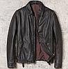 Чоловіча шкіряна куртка Urban XL чорна. (01350)