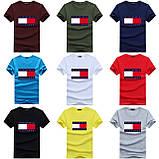 Чоловіча футболка у стилі Tomy томмі хілфігер, фото 2