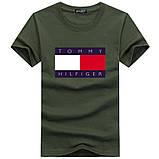 Чоловіча футболка у стилі Tomy томмі хілфігер, фото 3