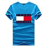 Чоловіча футболка у стилі Tomy томмі хілфігер, фото 7