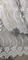 Фатиновый тюль с кордовой ниткой на метраж, высота 1,5м (RB291), фото 4