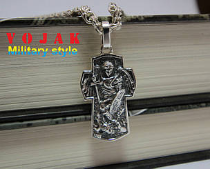 Кулон срібний Архангел Михаїл