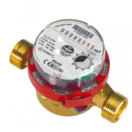 Водомер Apator Powogaz JS-90-2,5 Smart+ ГВ Ду15 антимагнитный