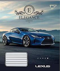 Зошит А5/60 кл. YES Elegance, 10 шт/уп.