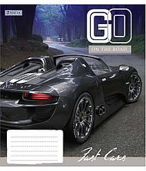 Зошит А5/60 лін. 1В Go on the road, 10 шт/уп.
