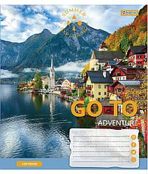 Зошит А5/60 лін. 1В Go to adventure, 10 шт/уп.
