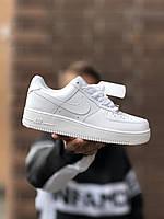 Чоловічі кросівки Force 1 Білі, Репліка, фото 1