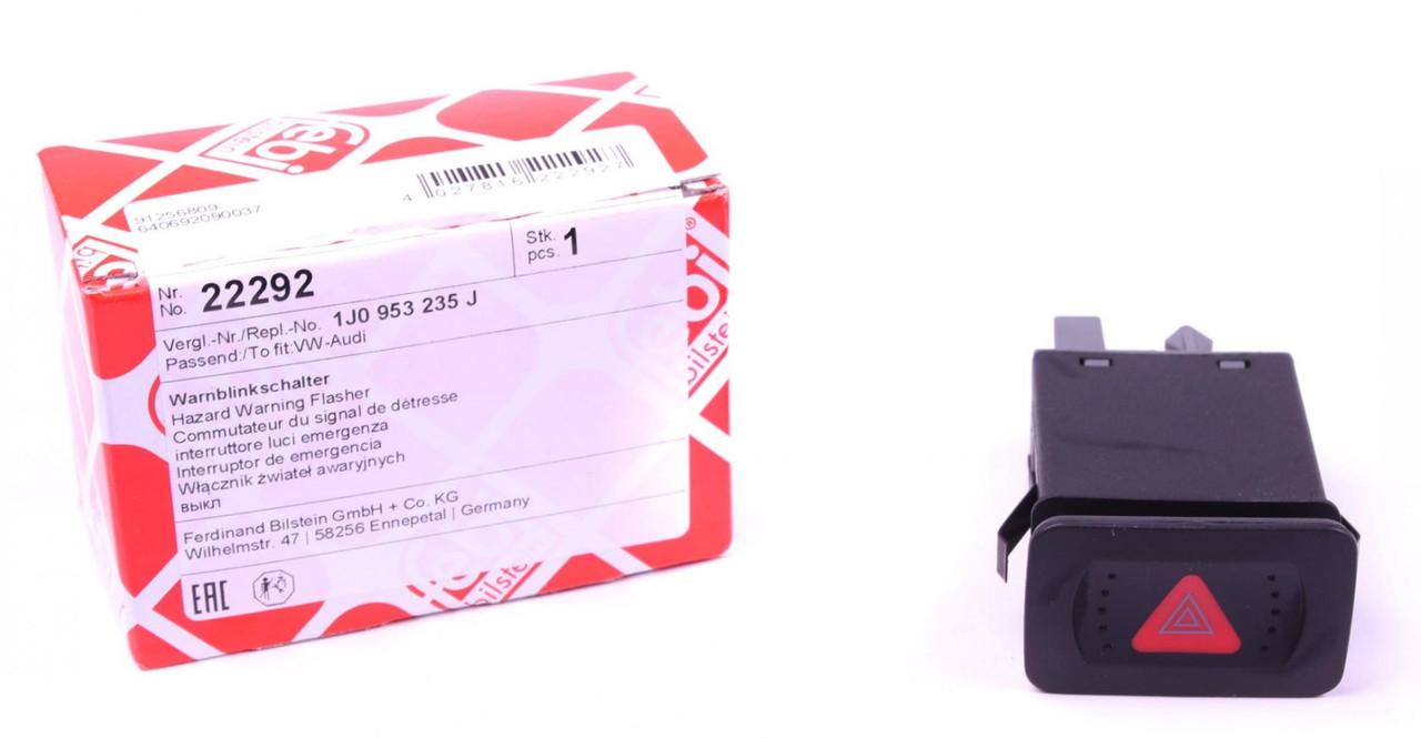 Выключатель аварийного светового сигнала с реле VW Bora/ Golf IV 98-06 (22292) FEBI BILSTEIN