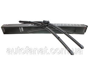 Щетки стеклоочистителя Audi A4 (8E), A6 (C5) оригинальные передние (4B0998002)