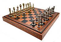 Подарочный комплект Italfama шахматы, шашки, нарды 81M+212L