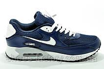 Nike Air Max 90 мужские кроссовки синие, фото 3