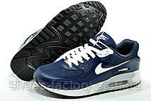 Nike Air Max 90 мужские кроссовки синие, фото 2
