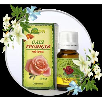 Ефірна олія троянди 5мл ТМ Адверсо