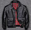 Чоловіча шкіряна куртка Urban M чорна. (01322)