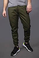 Штаны карго брюки мужские весенние осенние качественные зеленые оливковые Intruder