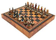Подарочный набор Italfama Battle of Troy (шахматы + шашки)