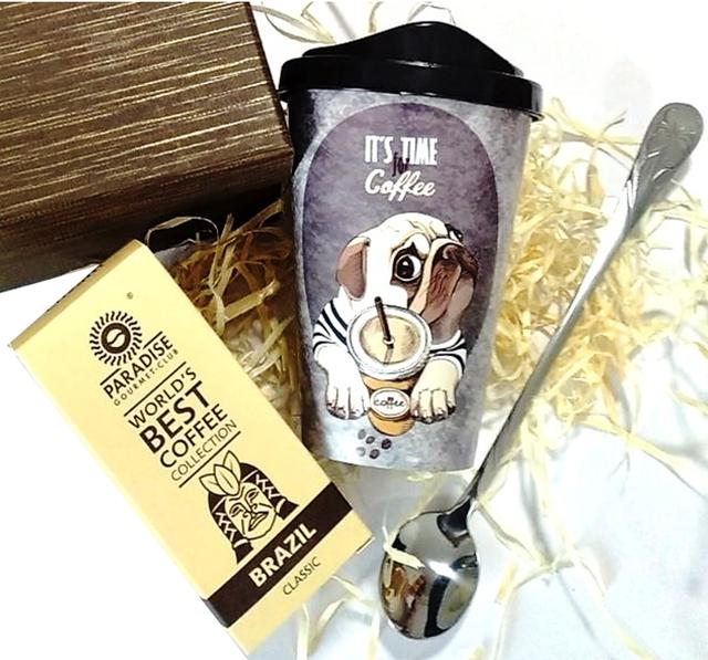 Кофейный подарочный набор кофейный презент