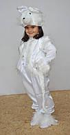 Карнавальный костюм Медведь Медвежонок Мишка белый