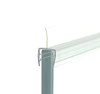 Уплотнитель для душевой кабины, прозрачный ( ФС 0108 22 КЛ ) длина 2,2 м. ресница 12 мм.