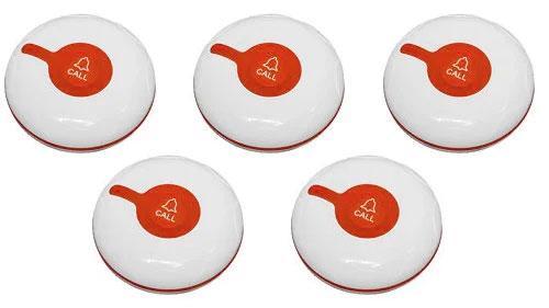 Фото: кнопки вызова персонала RECS R-300 - 5 штук - комплект системы вызова RECS №177