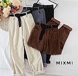 Модні штани жіночі на високій посадці, фото 3