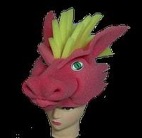 Маска-шляпа Дракон змей