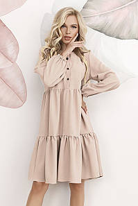Молодіжне жіноче плаття Dolly, бежевий
