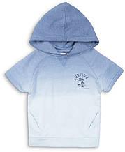 Детская футболка с капюшоном для мальчика 1-5 лет Minoti, 74-110 см