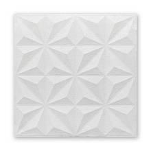 Самоклеющаяся декоративная потолочно-стеновая 3D панель звезды 700x700x5мм