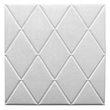 Самоклеющаяся декоративная потолочно-стеновая 3D панель 700x700х8мм