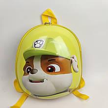 Дитячий рюкзак Веселі цуценята жовтий