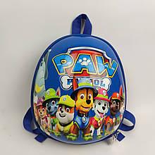 Дитячий рюкзак Веселі цуценята команда синій