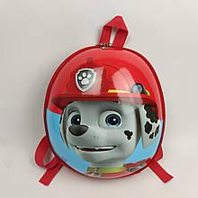 Дитячий рюкзак Веселі цуценята червоний