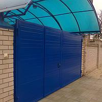 Ворота распашные из профлиста в Днепропетровске