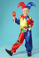 Карнавальный костюм Петрушка Шут Клоун Скоморох 122, фото 1