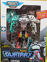 Тобот, робот - трансформер 4 в 1 Мини «Кватракс» 339-4C.Mini Quatrax