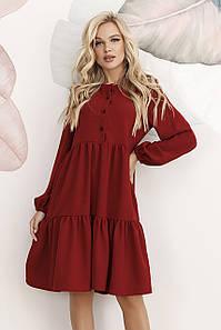 Молодіжне жіноче плаття Dolly, бордовий