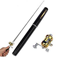 Складная телескопическая удочка ручка спининг Fishing Rod в виде ручки походная портативная