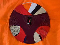 Жіночі трусики бавовна Р. р 52-56 один колір в упаковці