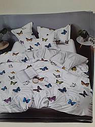 Семейный Комплект постельного белья Сатин Gold