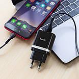 Зарядка Hoco C12Q 3A+ кабель MicroUSB, фото 4