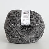 Пряжа Drops Baby Merino Mix (колір 19 grey), фото 2