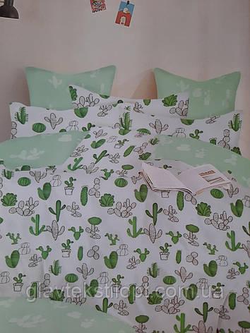 Семейный Комплект постельного белья Сатин Gold, фото 2